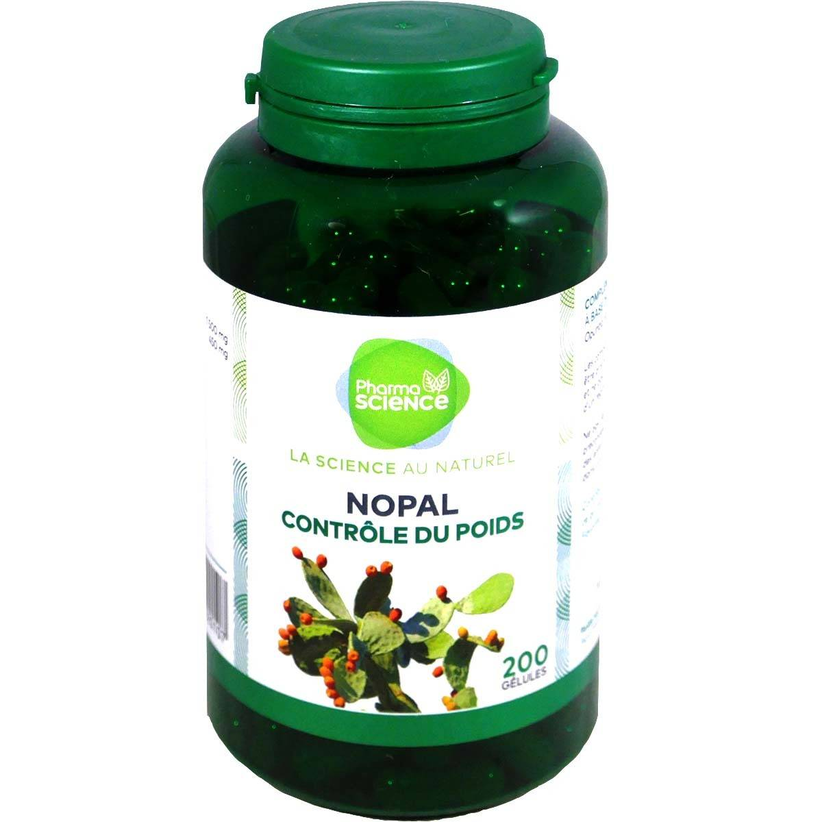 Pharmascience nopal 200 gelules