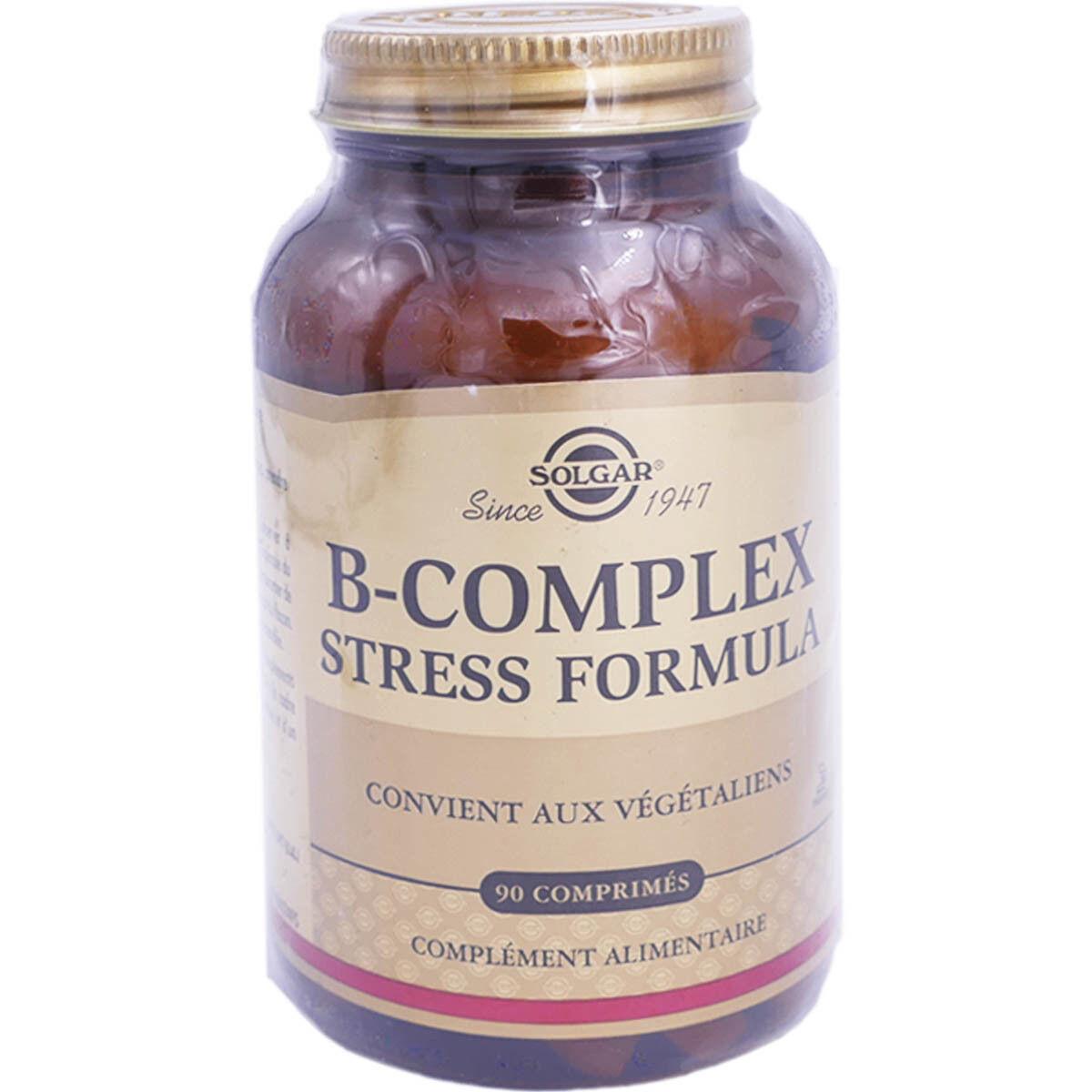 Solgar b complex stress formula 90 comprimes