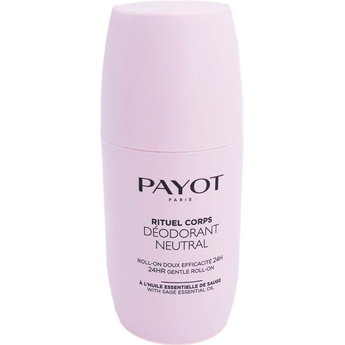 Payot rituel corps deodorant neutral 75ml