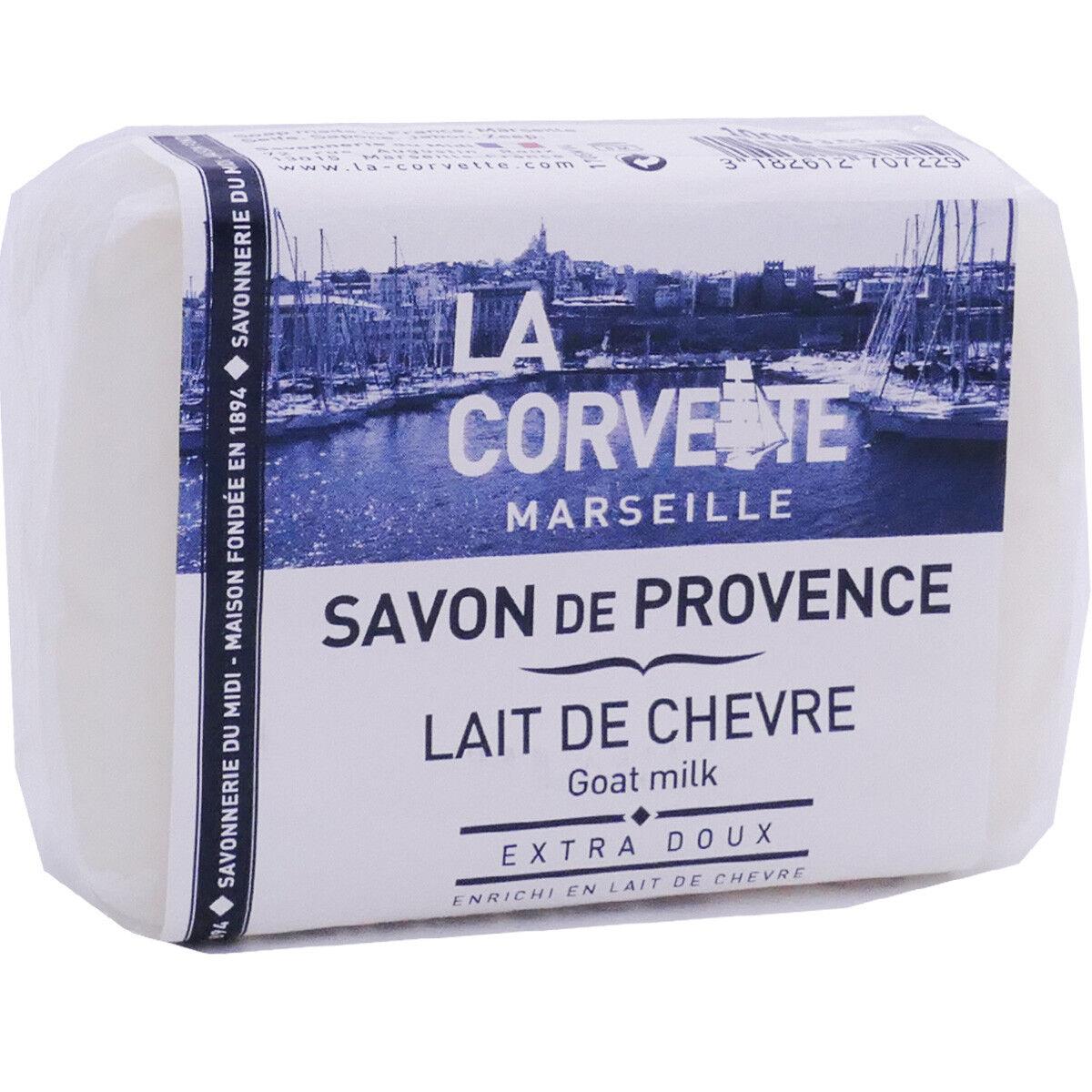 La corvette savon de provence lait de chevre 100g