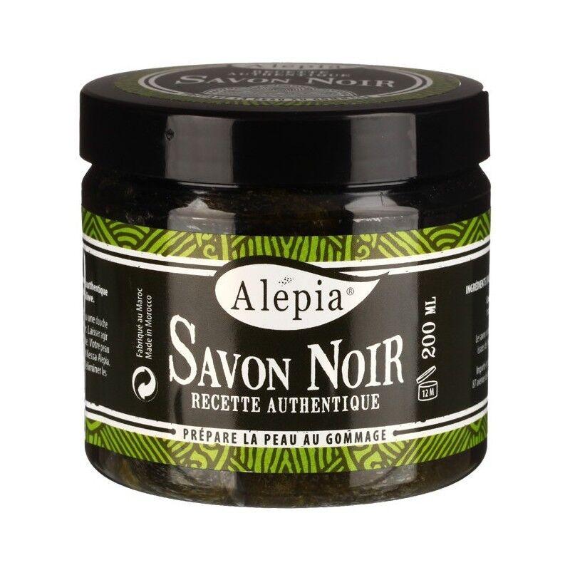 Alepia savon noir exfoliant 200ml