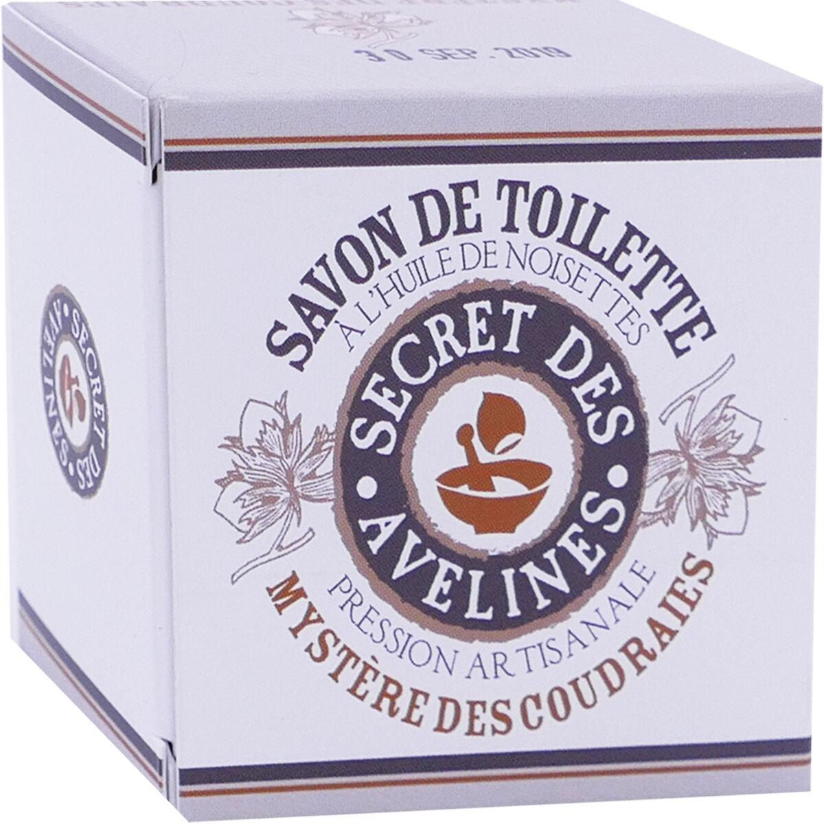 Secret des avelines savon de toilette huile de noisettes 100 gr