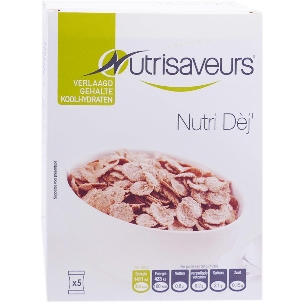 KOT Nutrisaveurs nutri dej' 5 sachets x 30g