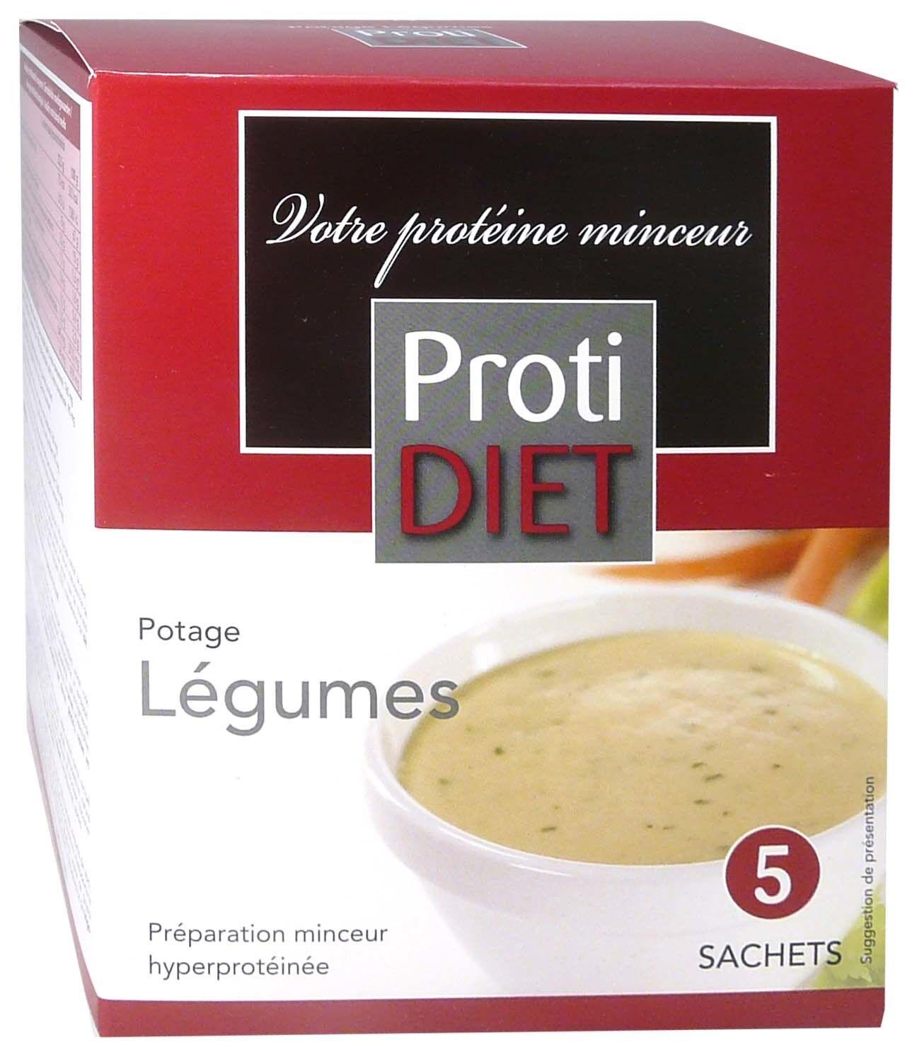 Protidiet potage legumes 5 sachets