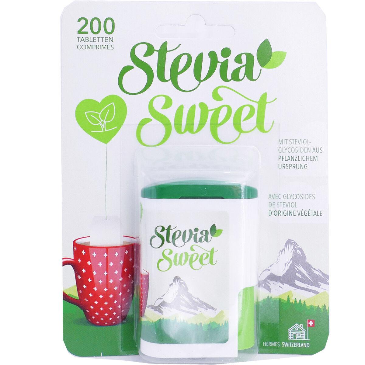 DIVERS Stevia sweet 200 comprimes
