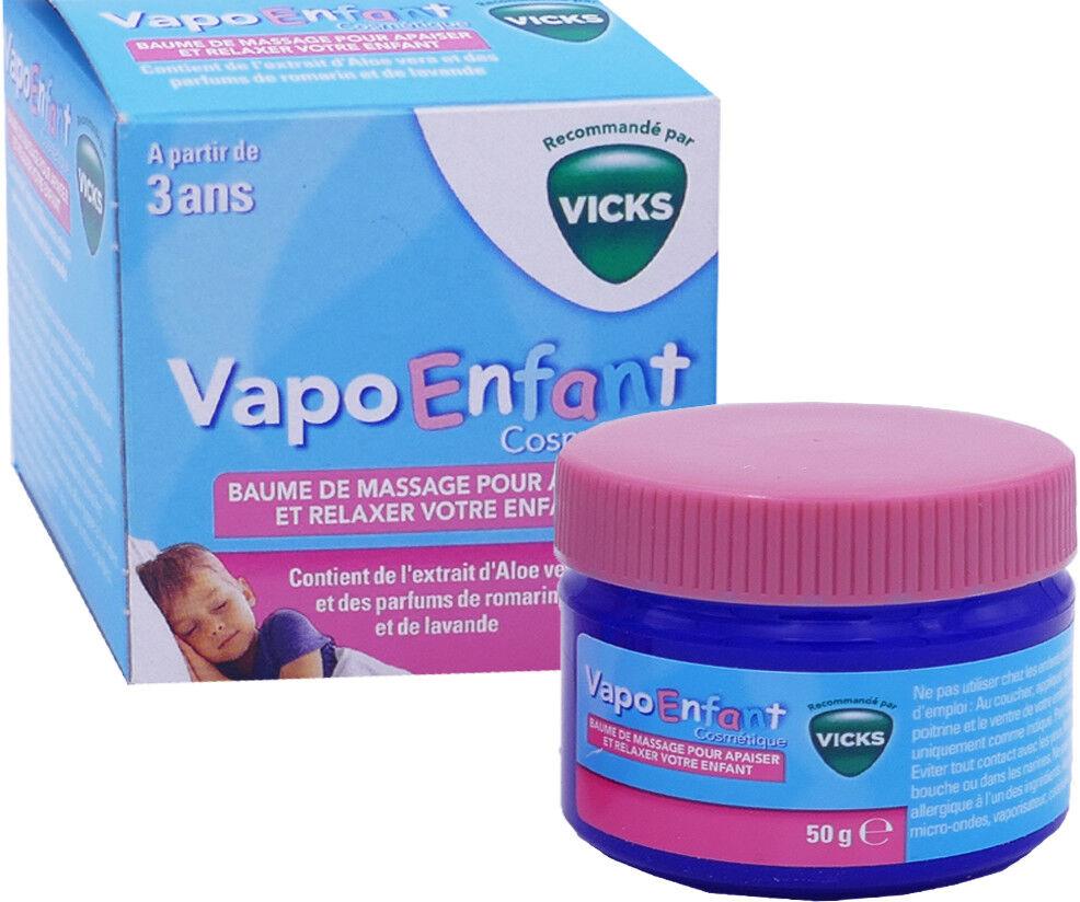 Vicks vapo enfant baume de massage 50 g