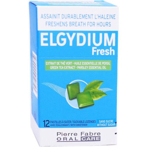 Elgydium fresh pastilles a sucer sans sucre x12