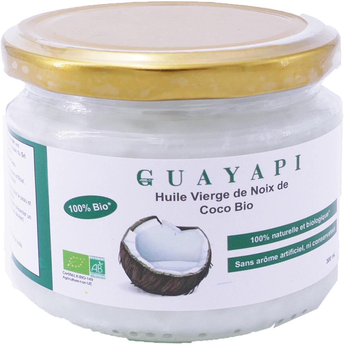 Guayapi huile vierge noix de coco bio 300 ml