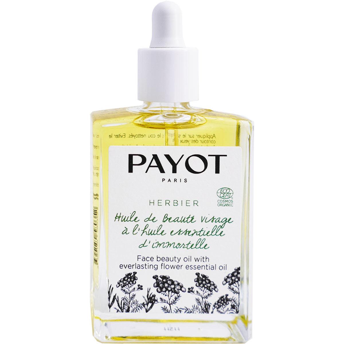 Payot herbier huile de beaute visage huile essentielle immortelle 30ml