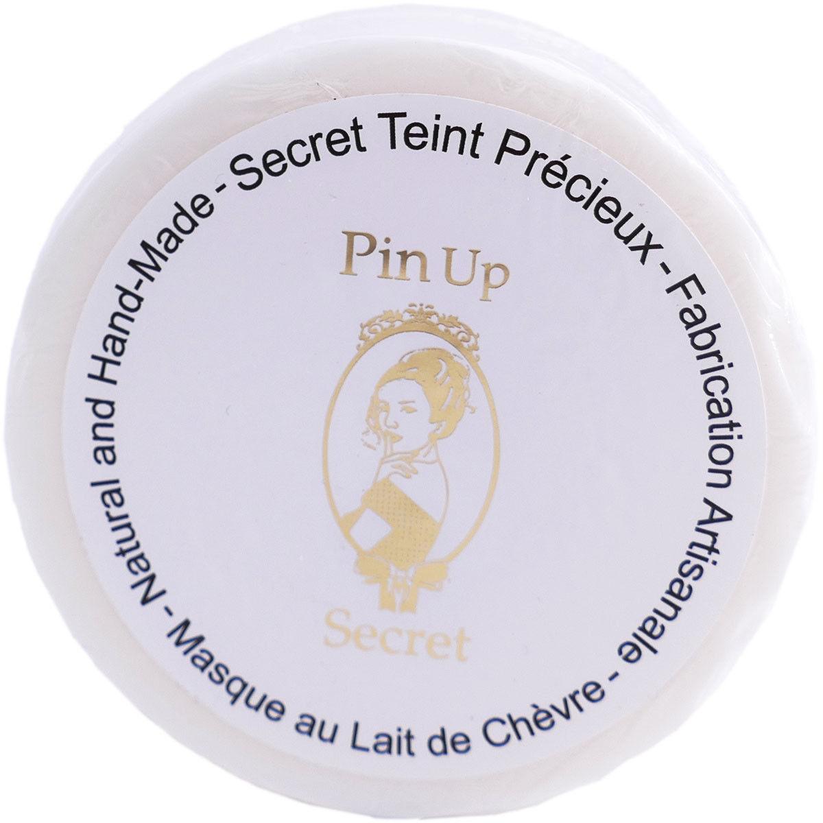 Pin up secret teint precieux masque lait de chevre 110g