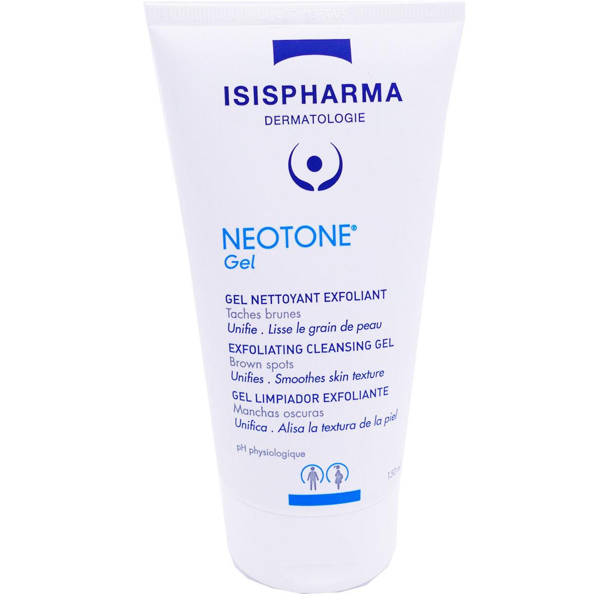 Isispharma neotone gel nettoyant exfoliant 150 ml