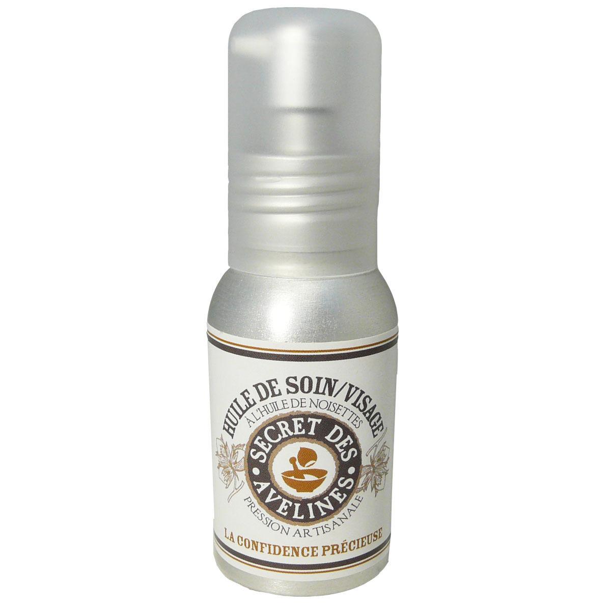 Secret des avelines huile de noisettes soin 50 ml