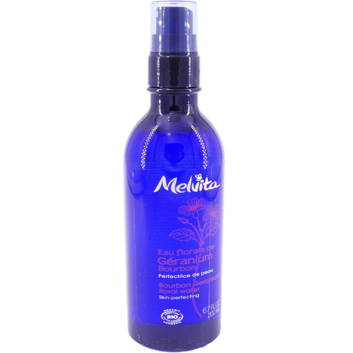 Melvita eau florale de geranuim bio 200 ml