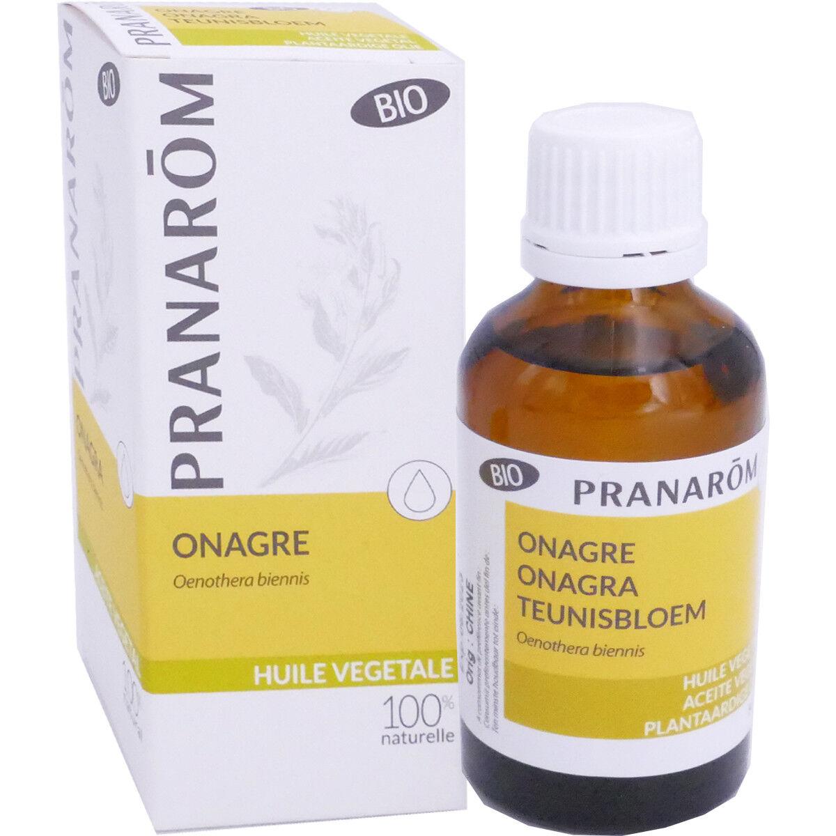 Pranarom huile vegetale bio onagre 50 ml