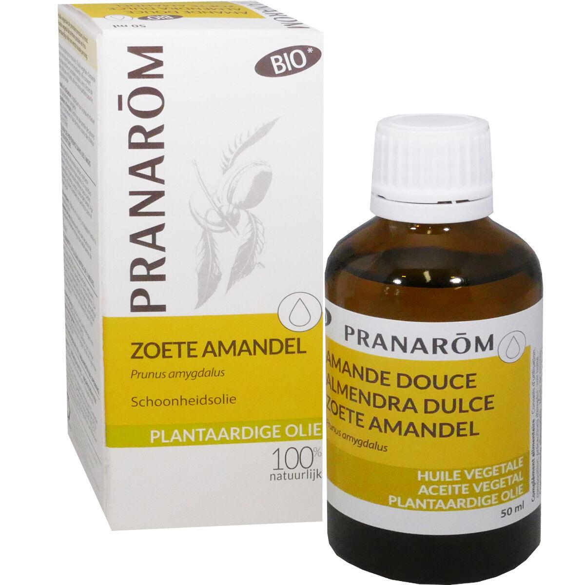 Pranarom huile beaute vegetale amande douce 50 ml