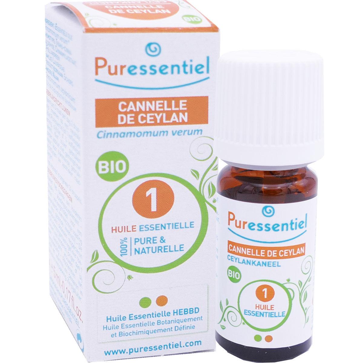 Puressentiel huile essentielle cannelle de ceylan 5 ml bio