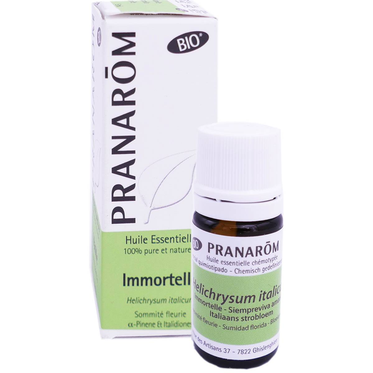 Pranarom huile essentielle immortelle bio 5ml