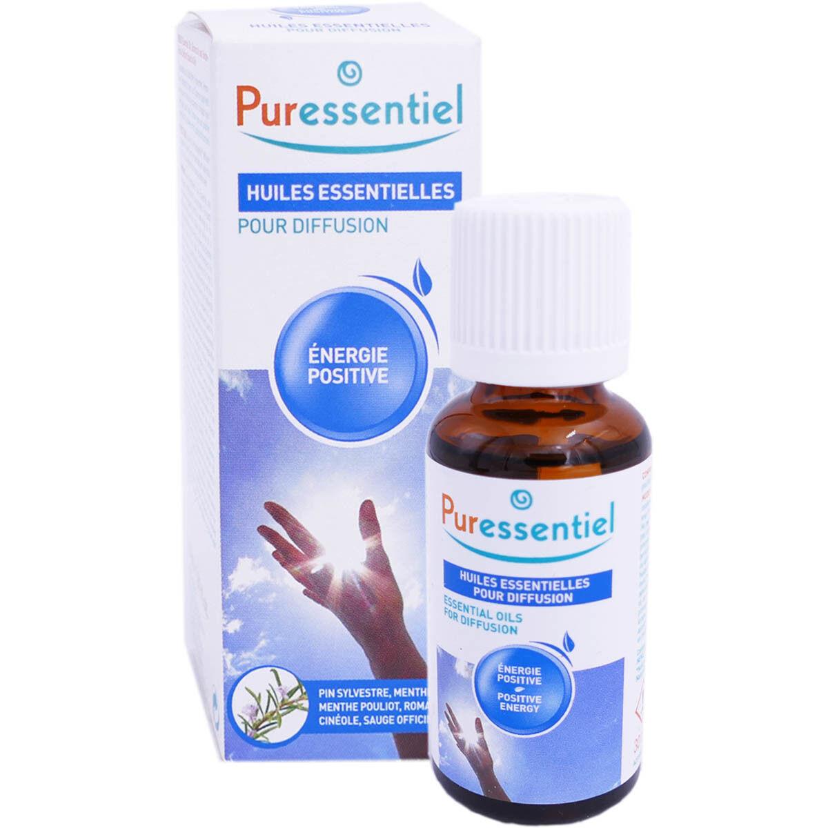 Puressentiel huile essentielle pour diffusion energie positive 30ml