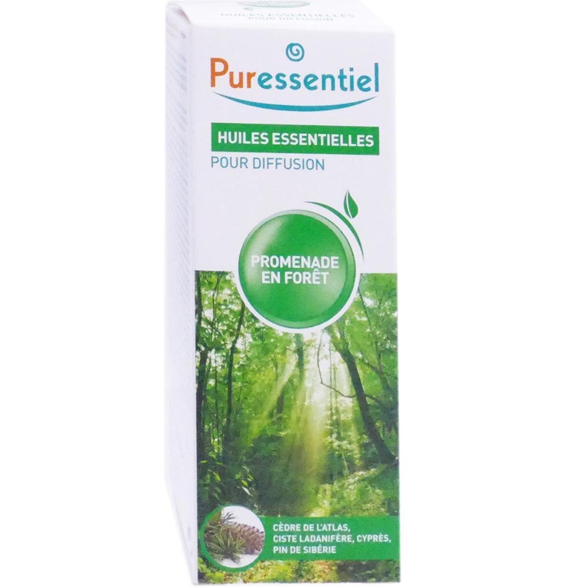 Puressentiel huile essentielle pour diffusion promenade en foret 30ml