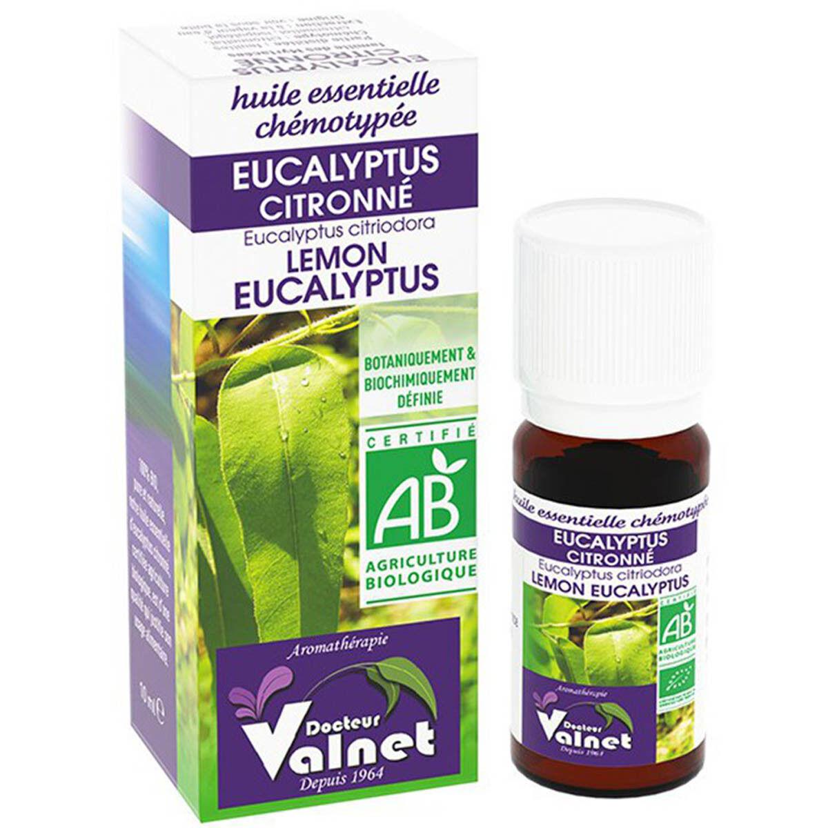DOCTEUR VALNET Dr valnet huile essentielle eucalyptus citronne 10ml