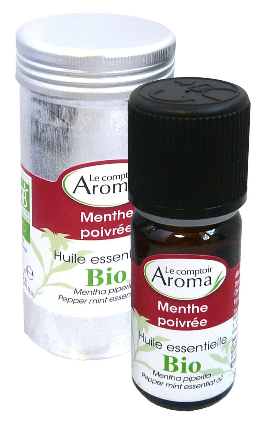 Le comptoir aroma huile essentielle bio menthe poivree 10ml