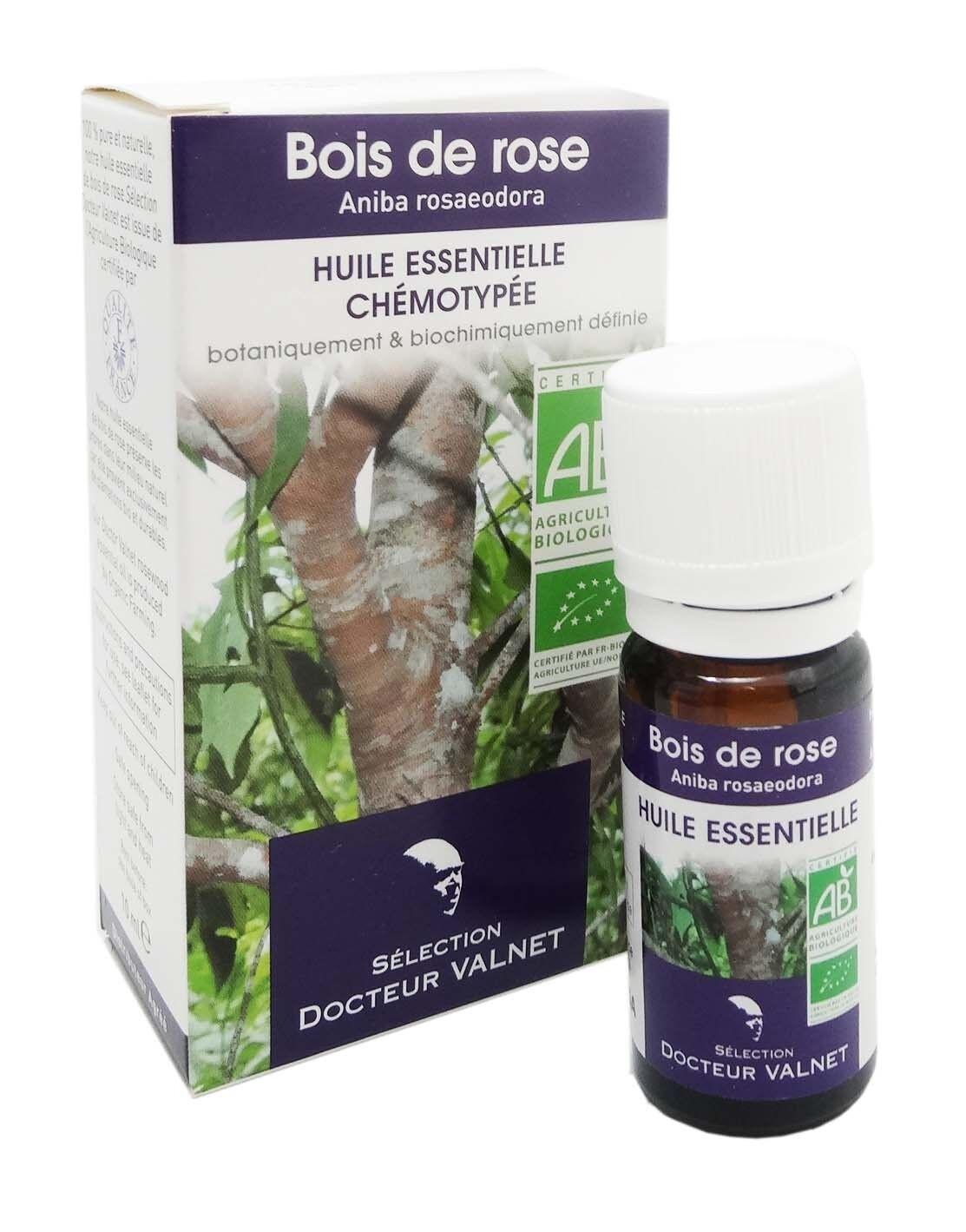 Docteur valnet huile essentielle chemotypee  bois de rose 10ml