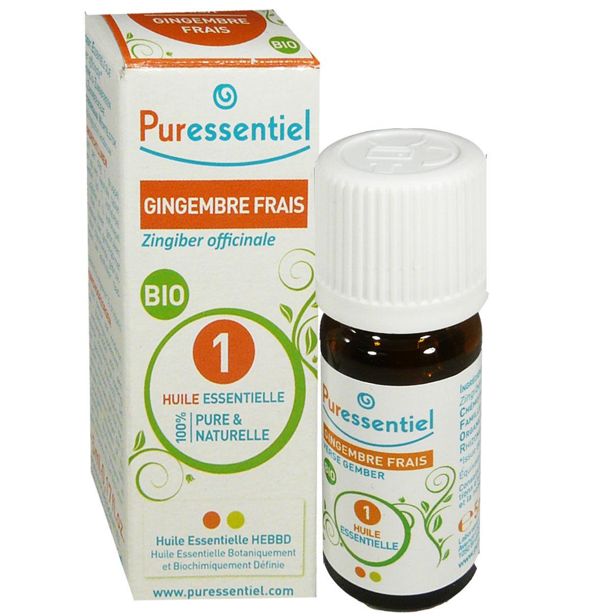Puressentiel huile essentielle gingembre frais bio 5 ml