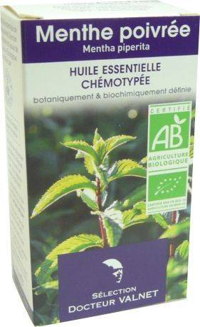 Docteur valnet huile essentielle menthe poivree10ml bio