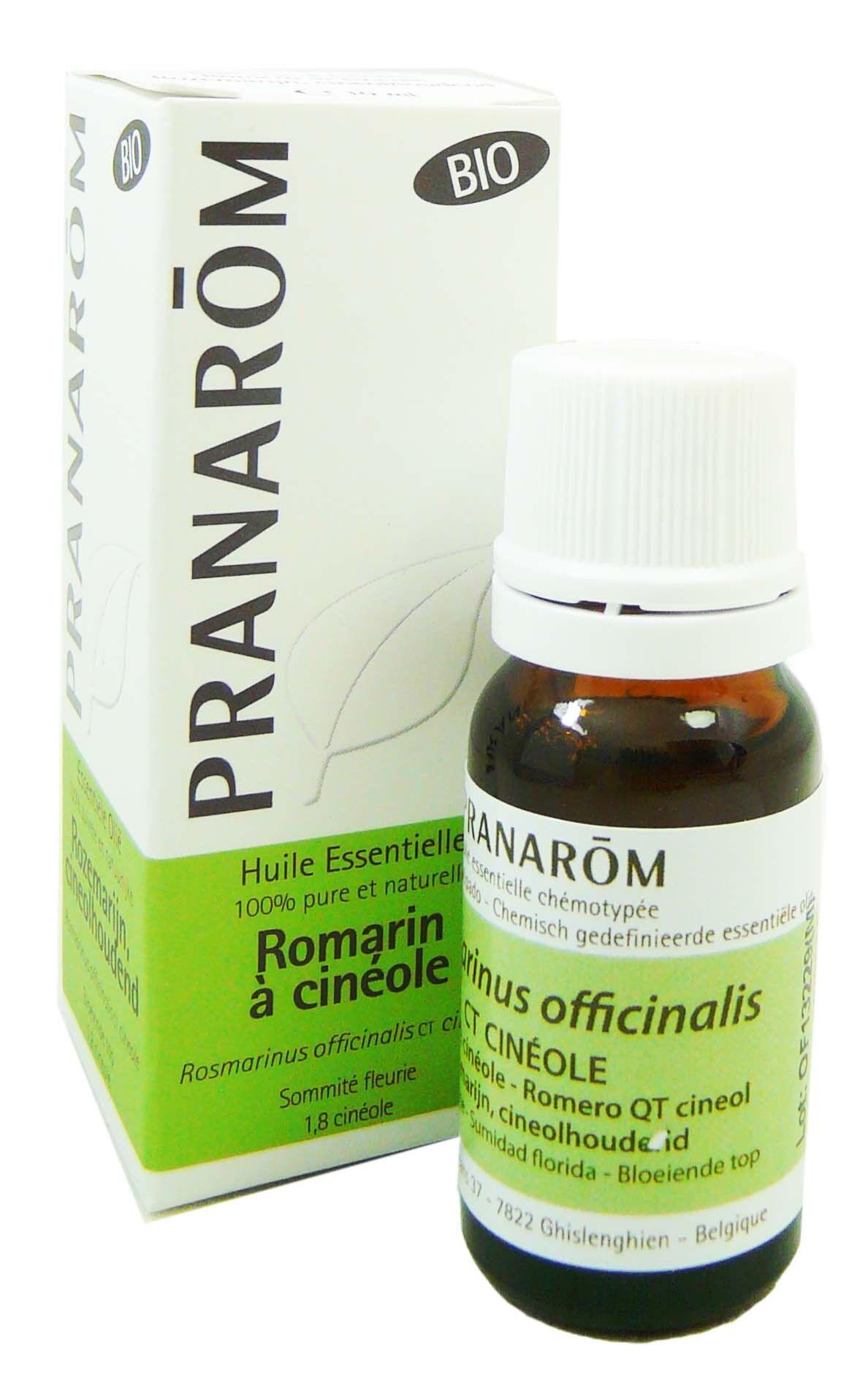 Pranarom huile essentielle bio romarin a cineole 10ml