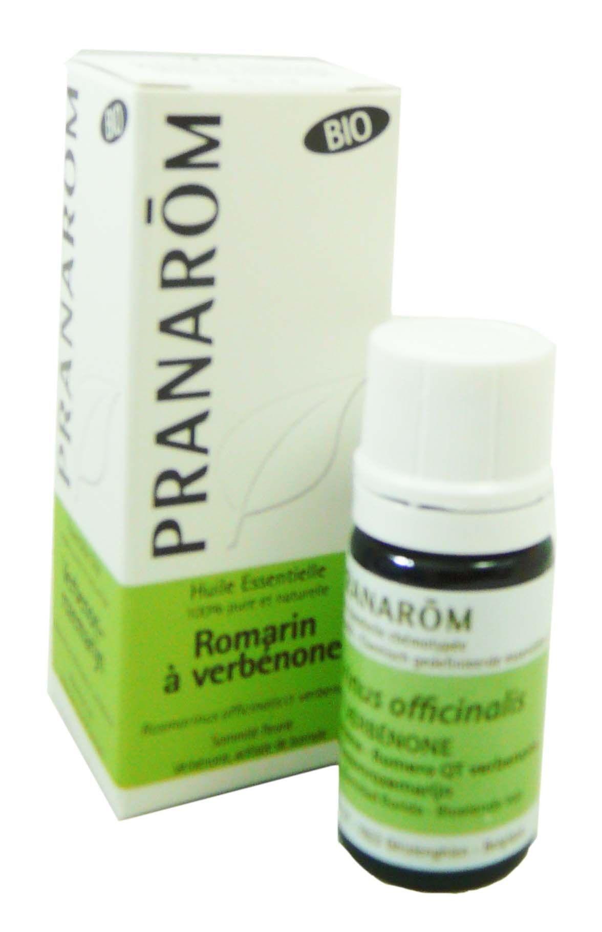 Pranarom huile essentielle bio romarin a verbenone 5ml