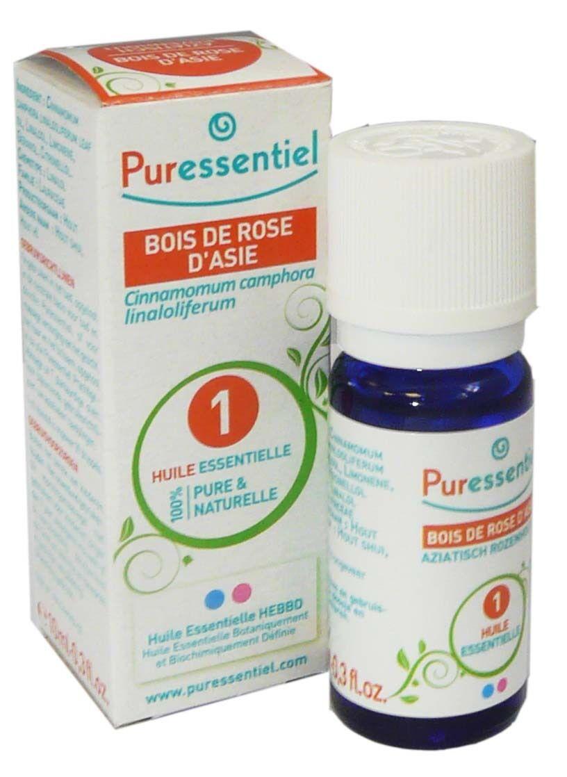 Puressentiel huile essentielle bois de rose d'asie 10ml