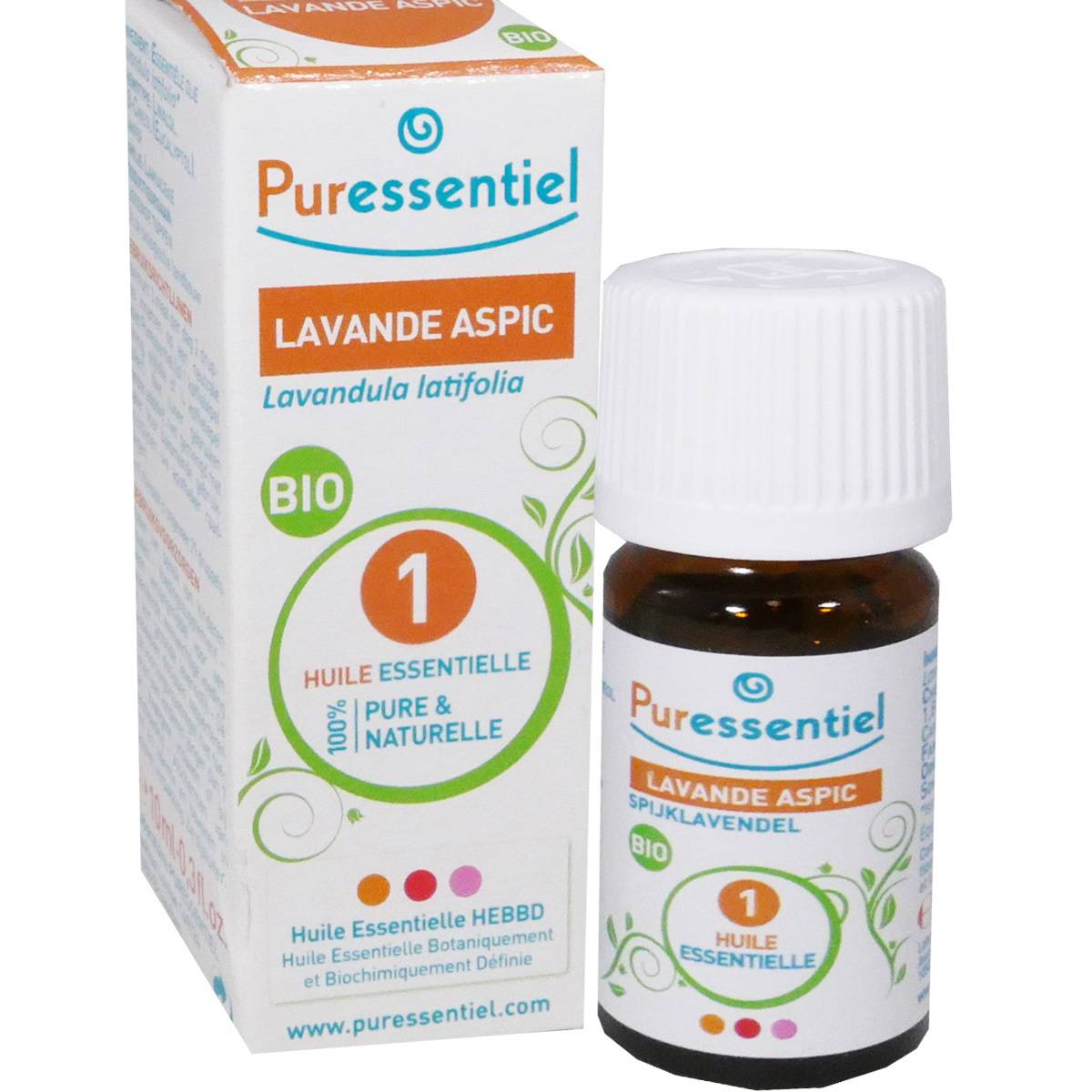 Puressentiel huile essentielle lavande aspic 10 ml