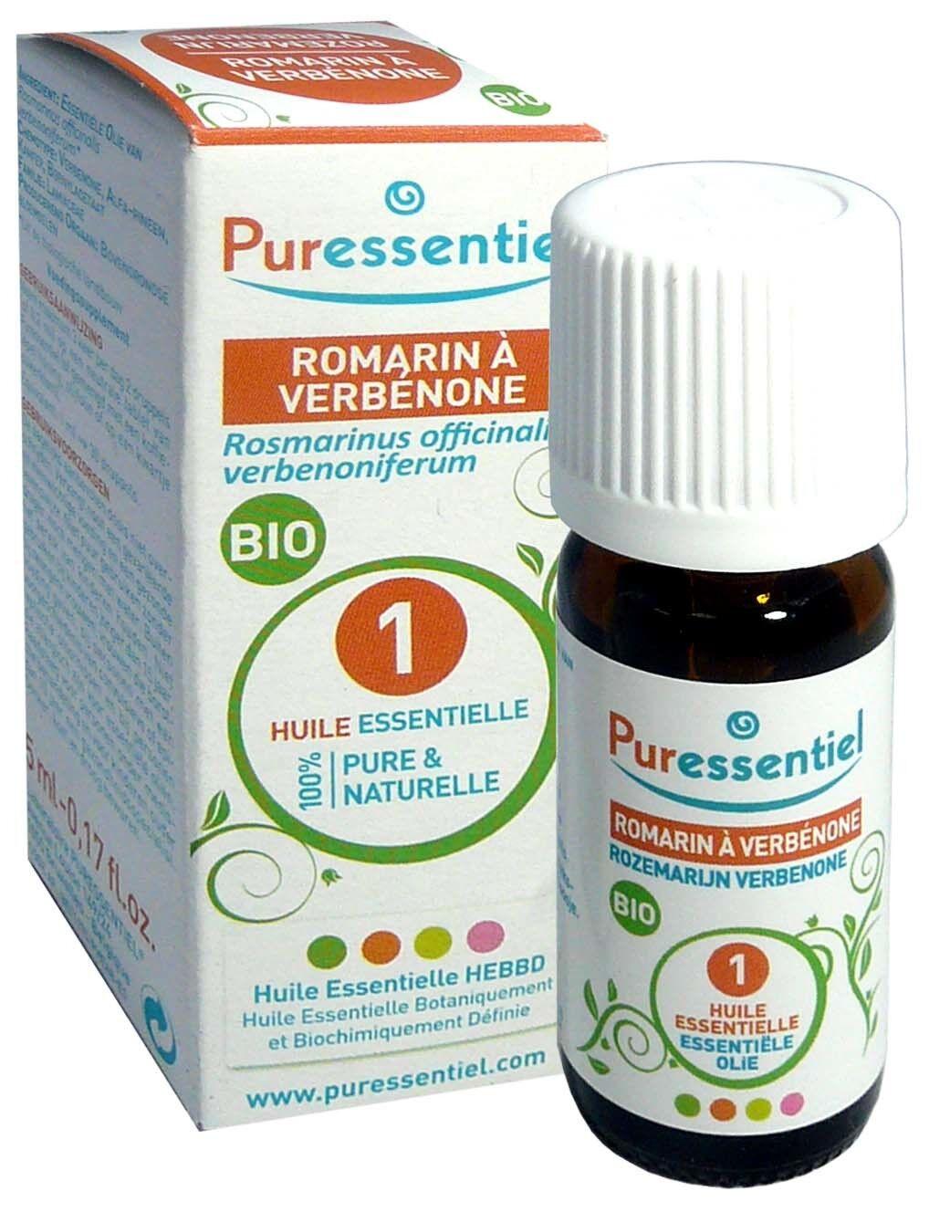 Puressentiel huile essentielle romarin a verbenone bio 5ml
