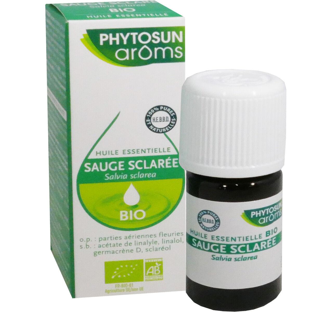 Phytosun aroms huile essentelle sauge sclaree bio 5ml