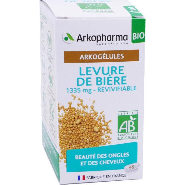 Arkopharma levure de biere cheveux ongles 45 gelules