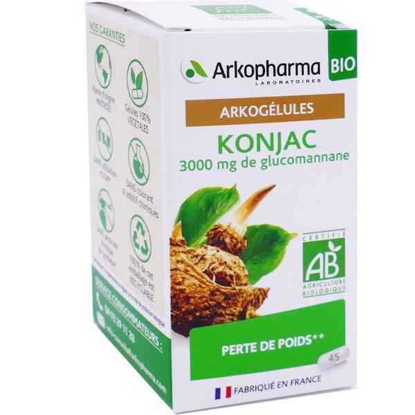 Arkopharma konjac perte de poids 45 arkogelules