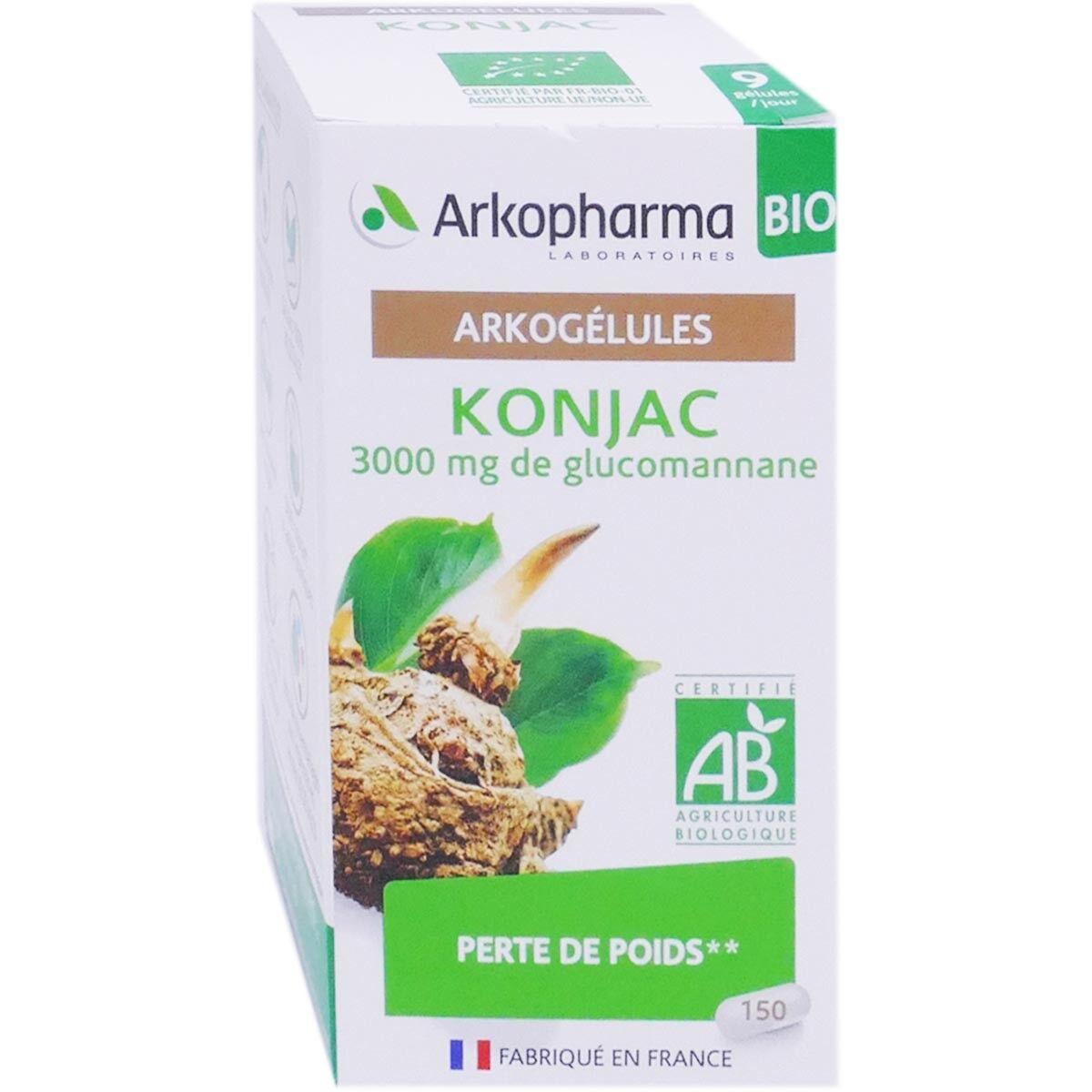 Arkopharma konjac perte de poids150 gelules