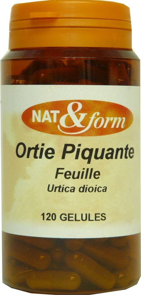 Nat & form ortie piquante feuille 120 gélules