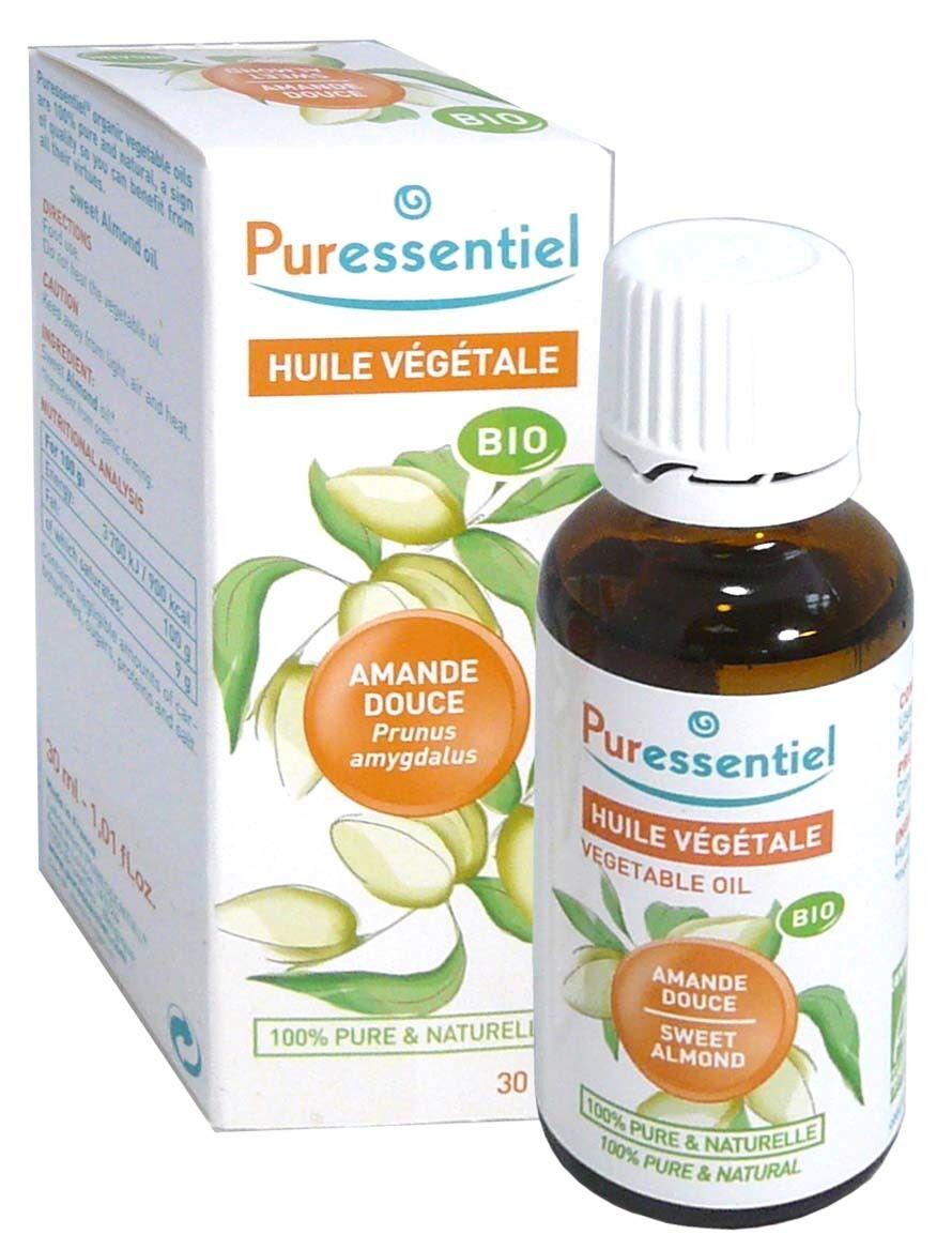 Puressentiel huile vegetale bio amande douce 30ml