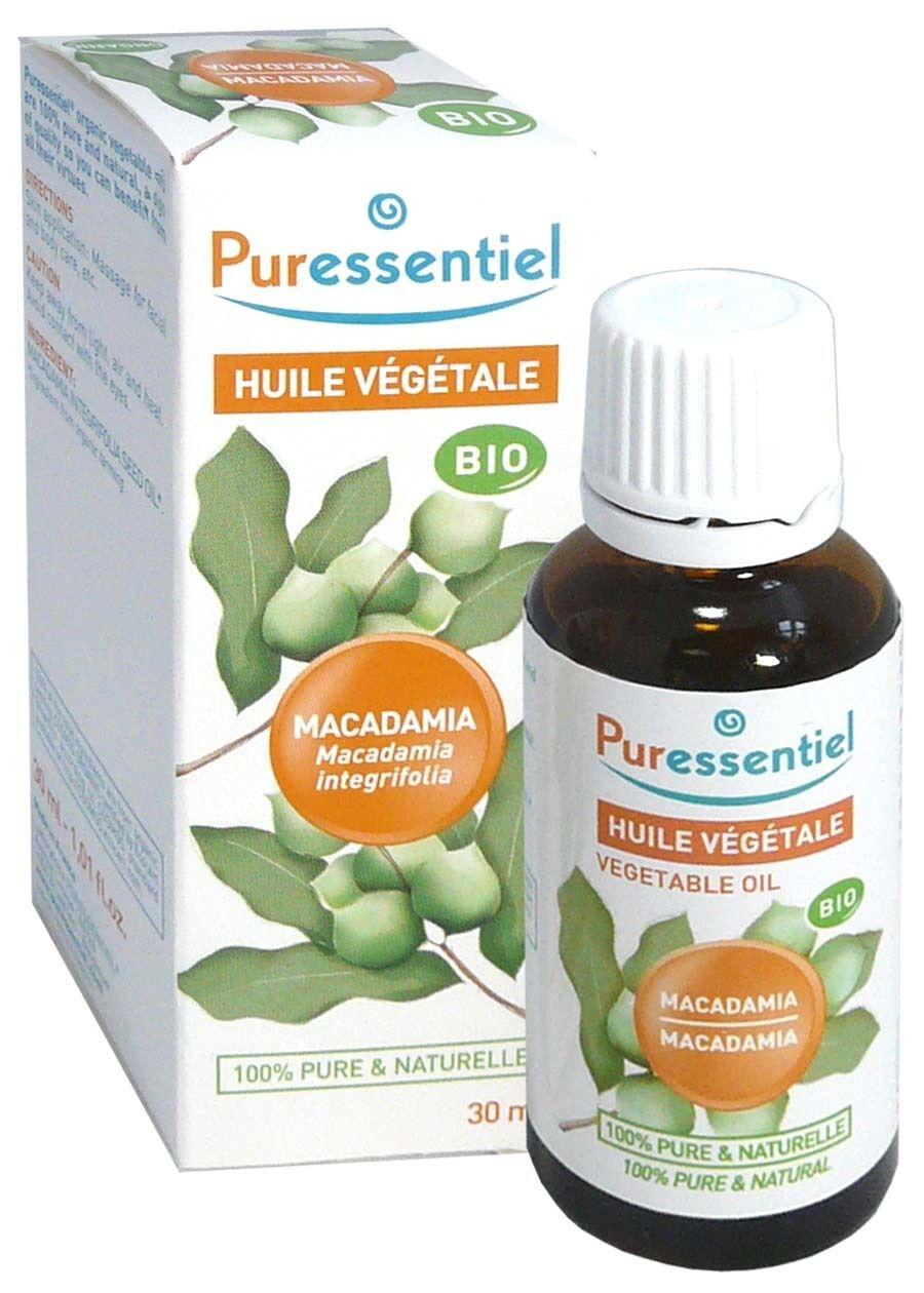 Puressentiel huile vegetale bio macadamia 30ml