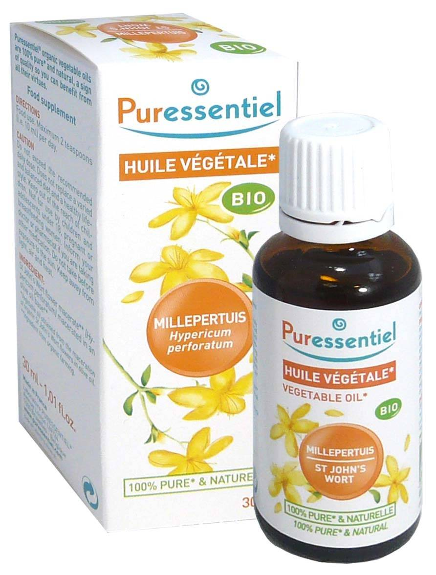 Puressentiel huile vegetale bio millepertuis 30ml