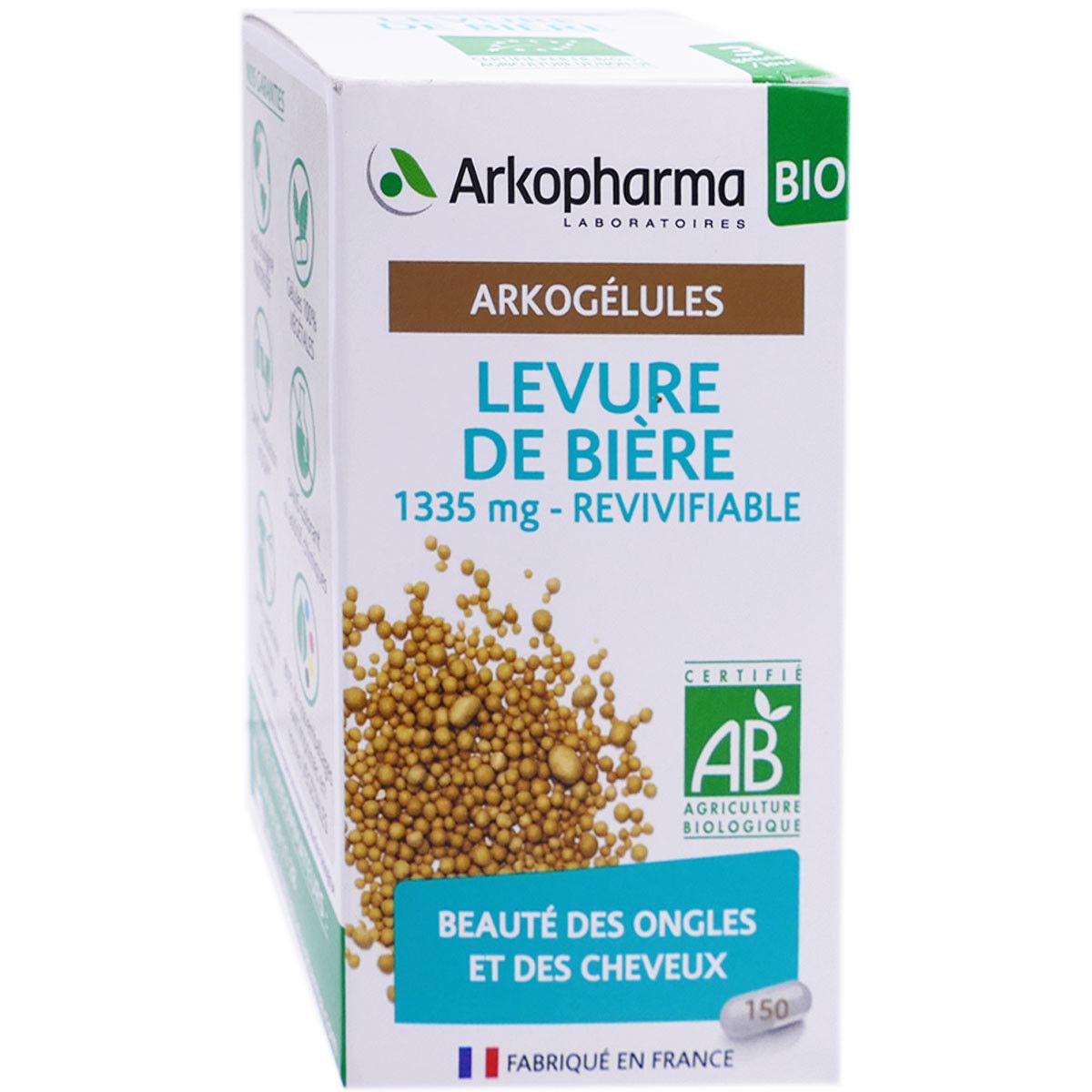 Arkopharma arkogelules bio levure de biere 150 gelules