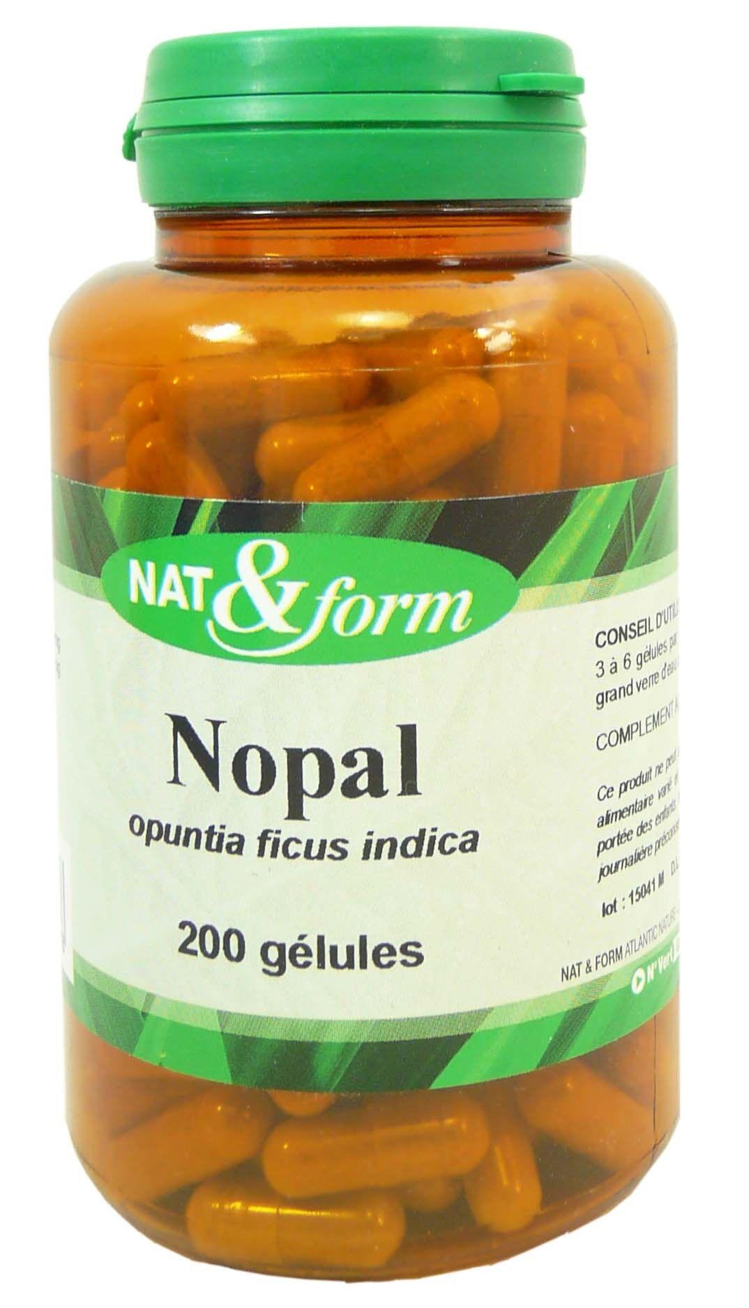 NAT & FORM Nat&form nopal 200 gelules