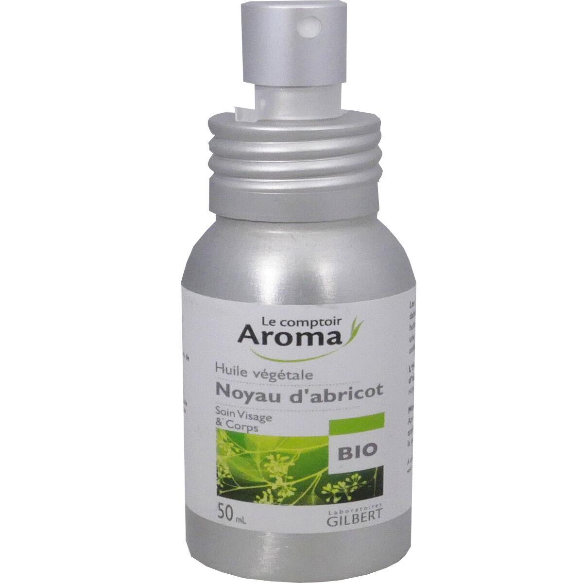 Le comptoir aroma huile vegetale noyau d'abricot 50 ml