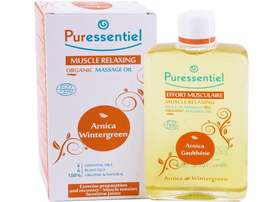 Puressentiel effort musculaire huile massage bio arnica 200ml