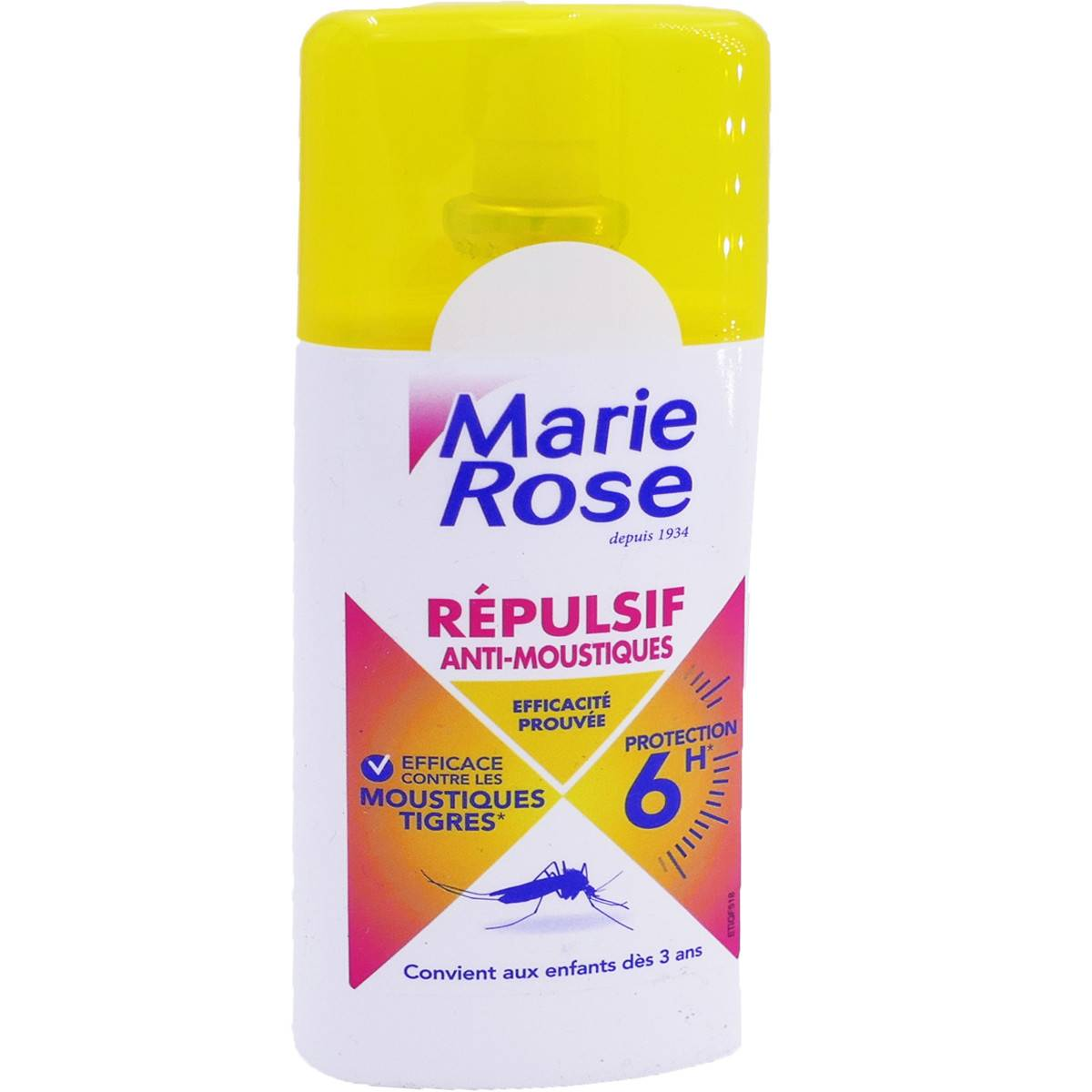 JUVASANTE Marie rose repulsif anti-moustiques  100 ml