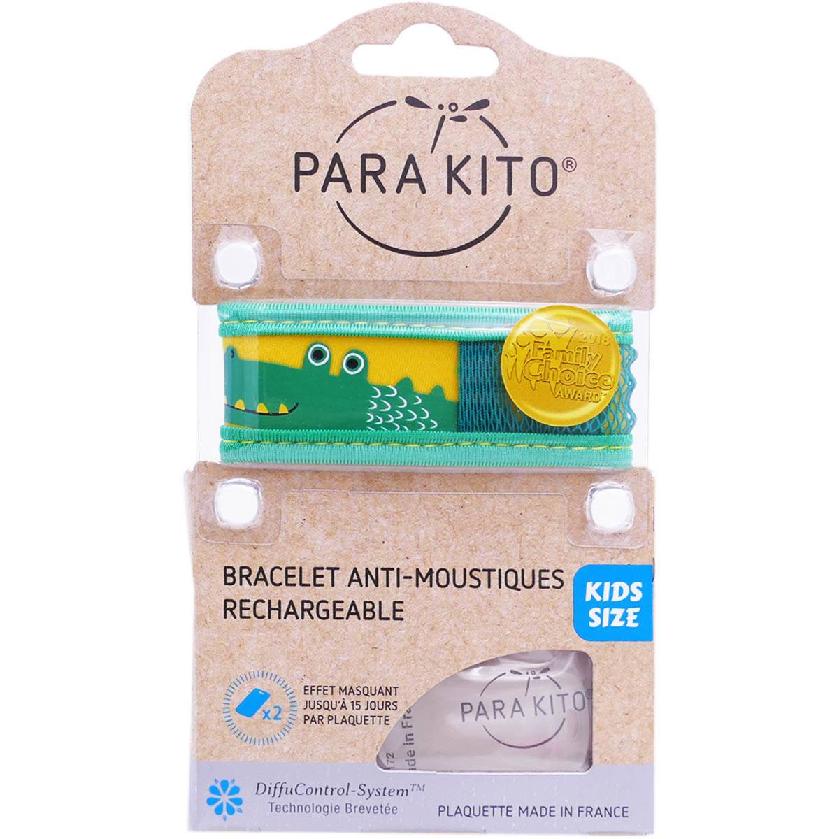 Para kito kids bracelet anti moustiques rechargeable
