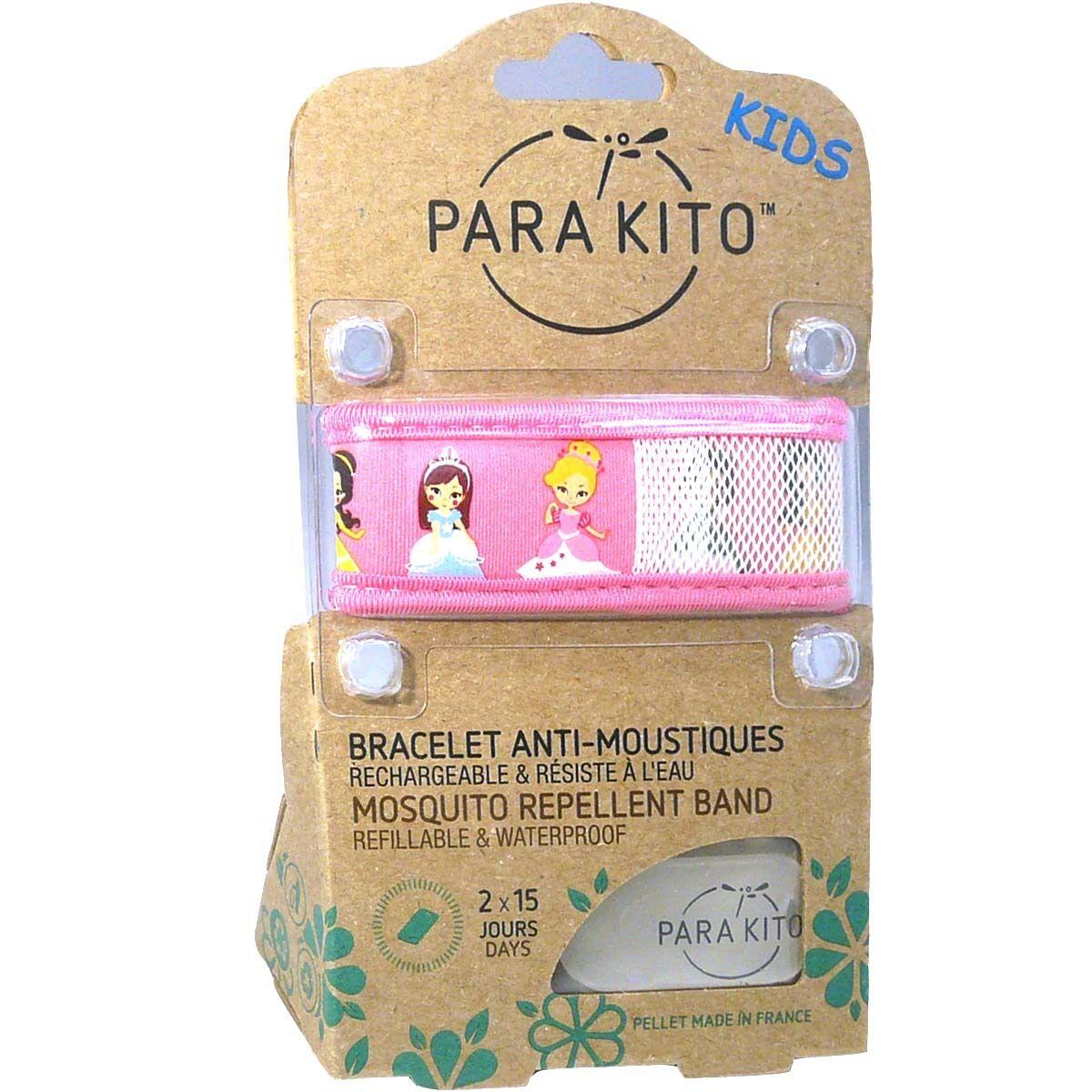 PARA KITO Para'kito kids bracelet anti-moustiques couleur au choix