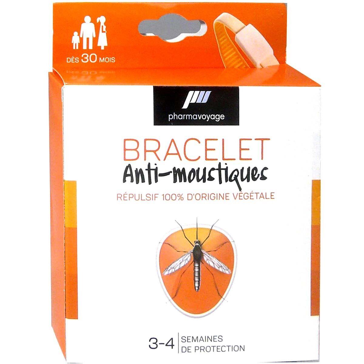EPITACT Pharmavoyage bracelet anti-moustiques couleur au choix