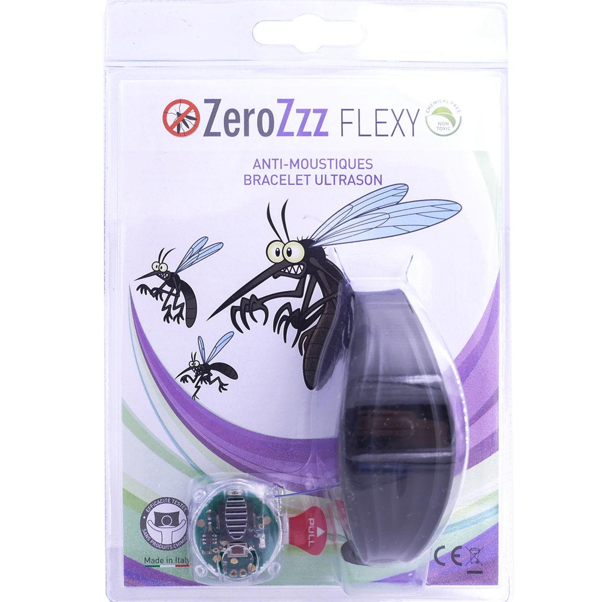 DIVERS Zerozzz flexy anti moustiques bracelet ultrason